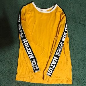 Victoria's Secret PINK long sleeve shirt